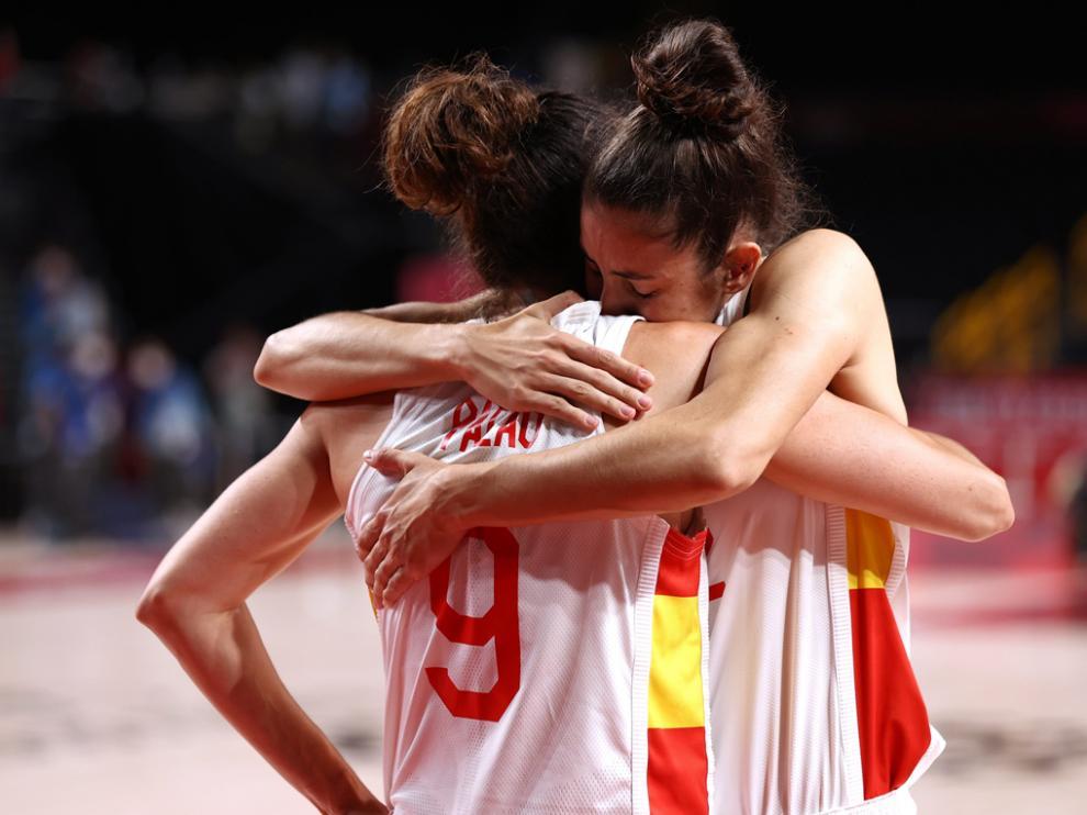 La selección femenina de baloncesto fue derrotada por las francesas (64-67) y no jugará las semifinales olímpicas de Tokio