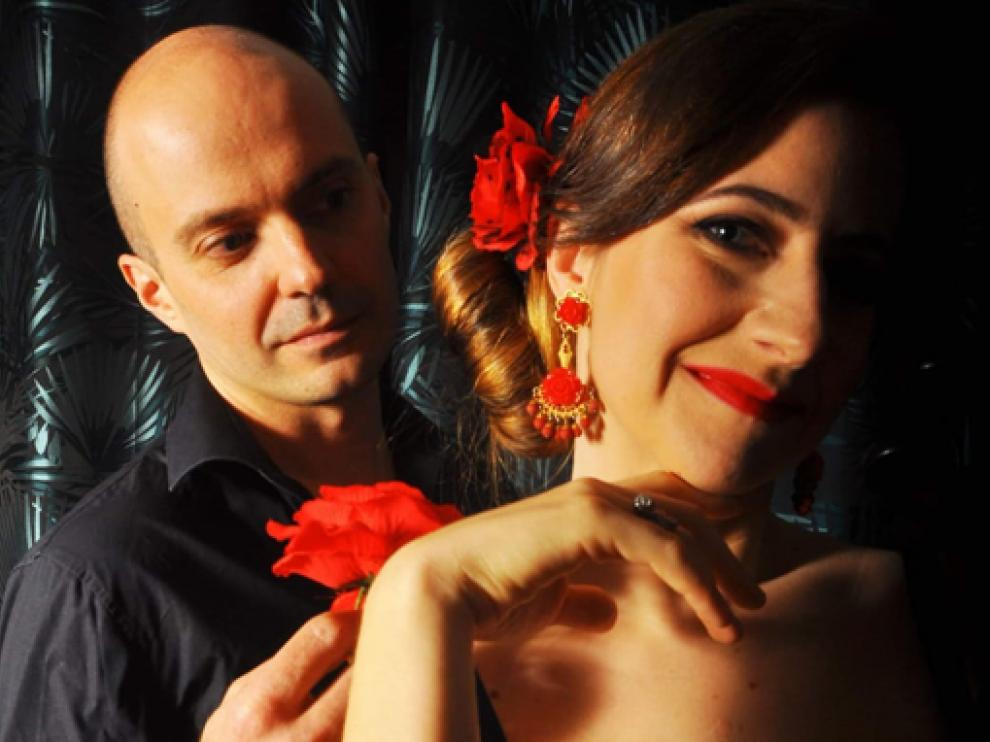 Philippe Argenty y Anna Mikulska actúan hoy en Laluenga.