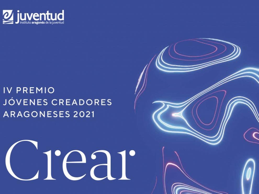 Cartel IV Premio Jóvenes Creadores Aragoneses