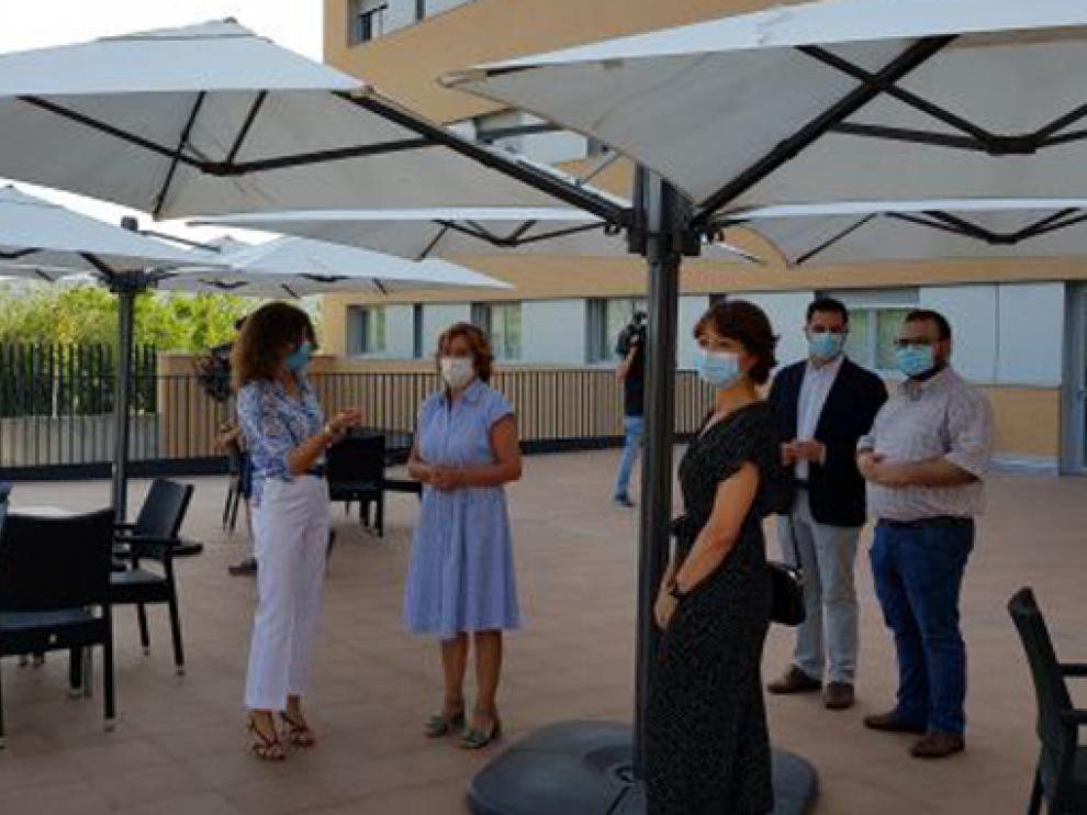 La consejera de Ciudadanía y Derechos Sociales ha inaugurado este lunes la residencia Maizales III en Zaragoza
