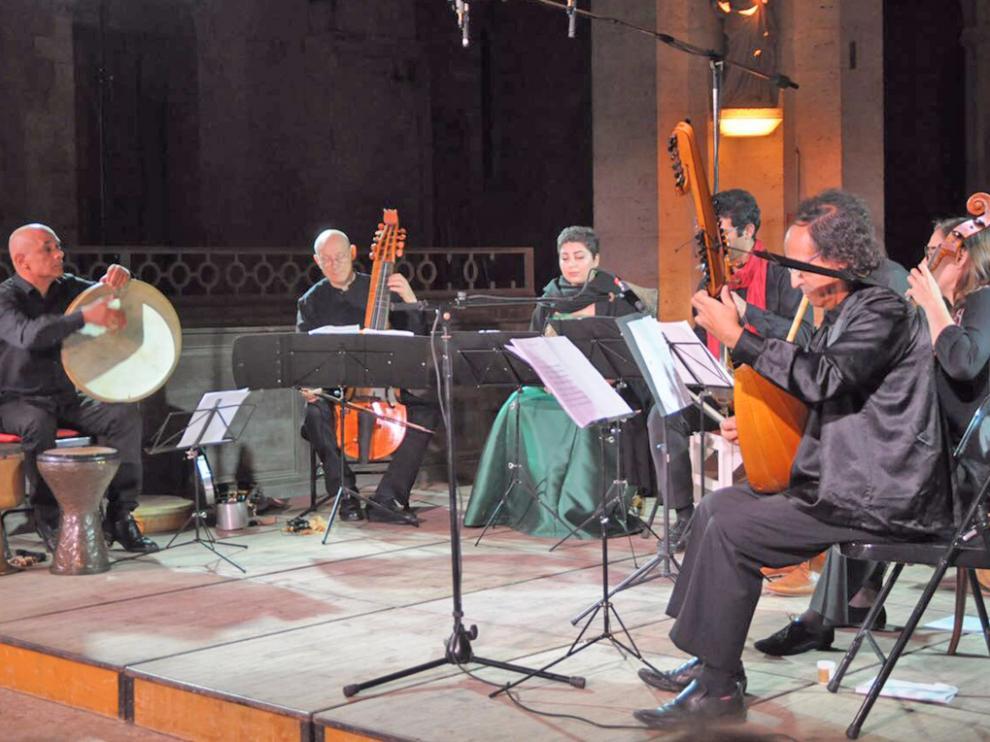 Concert Persan & Lachrimae Consort Paris de Philippe Foulonen en uno de sus conciertos