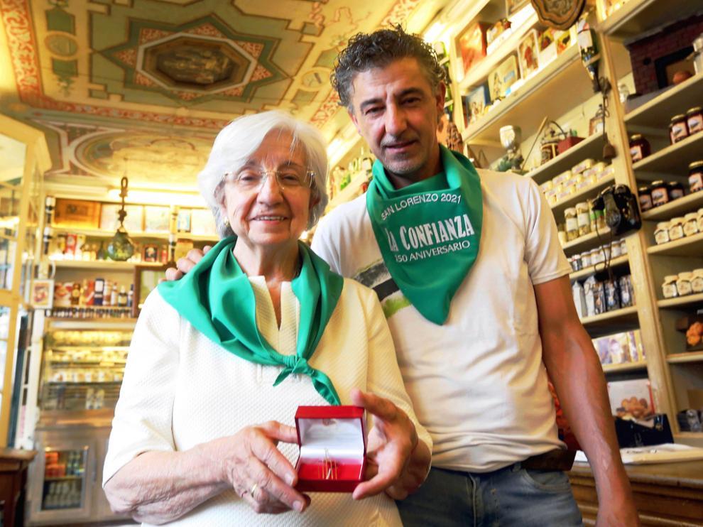 María Jesús Sanvicente y Víctor Villacampa de Ultramarinos La Confianza