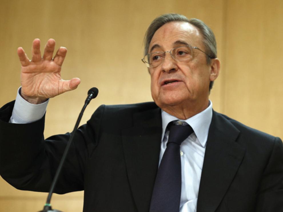Florentino Pérez  lleva varios meses en el ojo del huracán por diferentes polémicas.