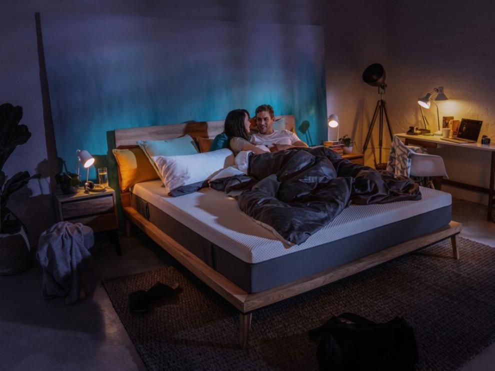 El colchón Emma Original se puede adquirir tanto para cama individual como de matrimonio.