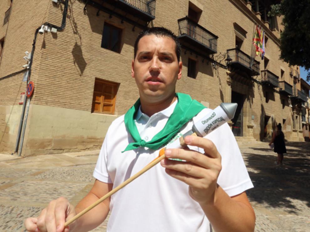 Jesús Martínez  de Pirotecnia Oscense.