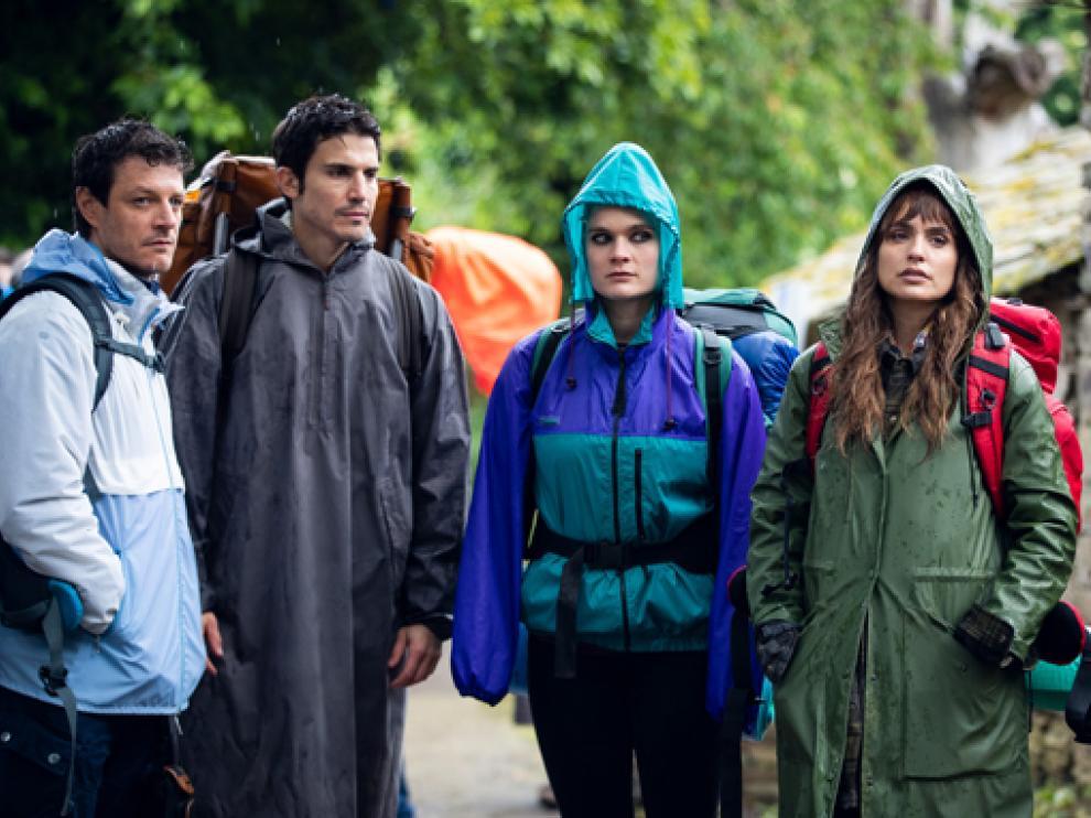 Secuencia de la serie de ficción 3 Caminos, cuyo primer episodio se proyecta en Hecho.