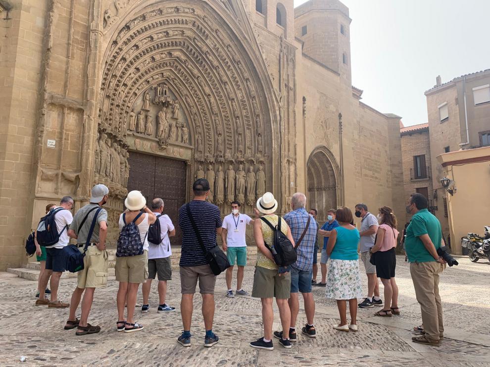 El ayuntamiento de Huesca organiza visitas guiadas durante todo el año.