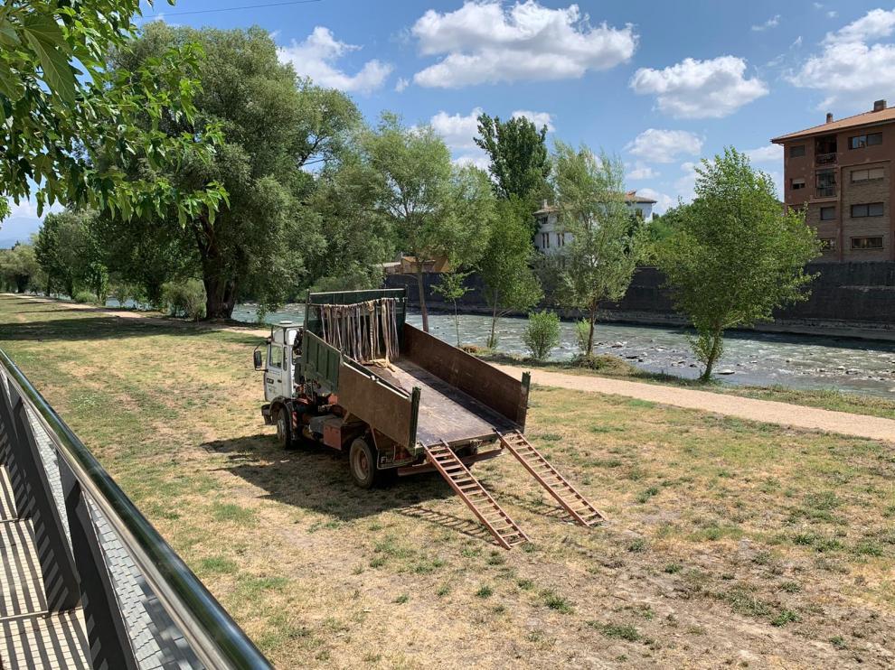 Desde el Ayuntamiento destacan el disfrute de la parte acondicionada de la ribera del río.