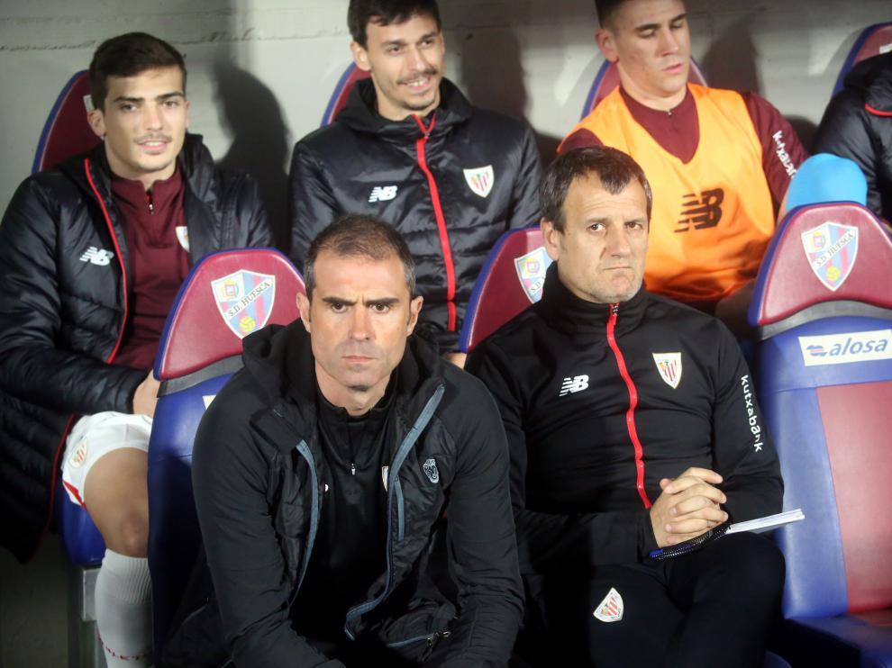 El técnico del Eibar, Gaizka Garitano.