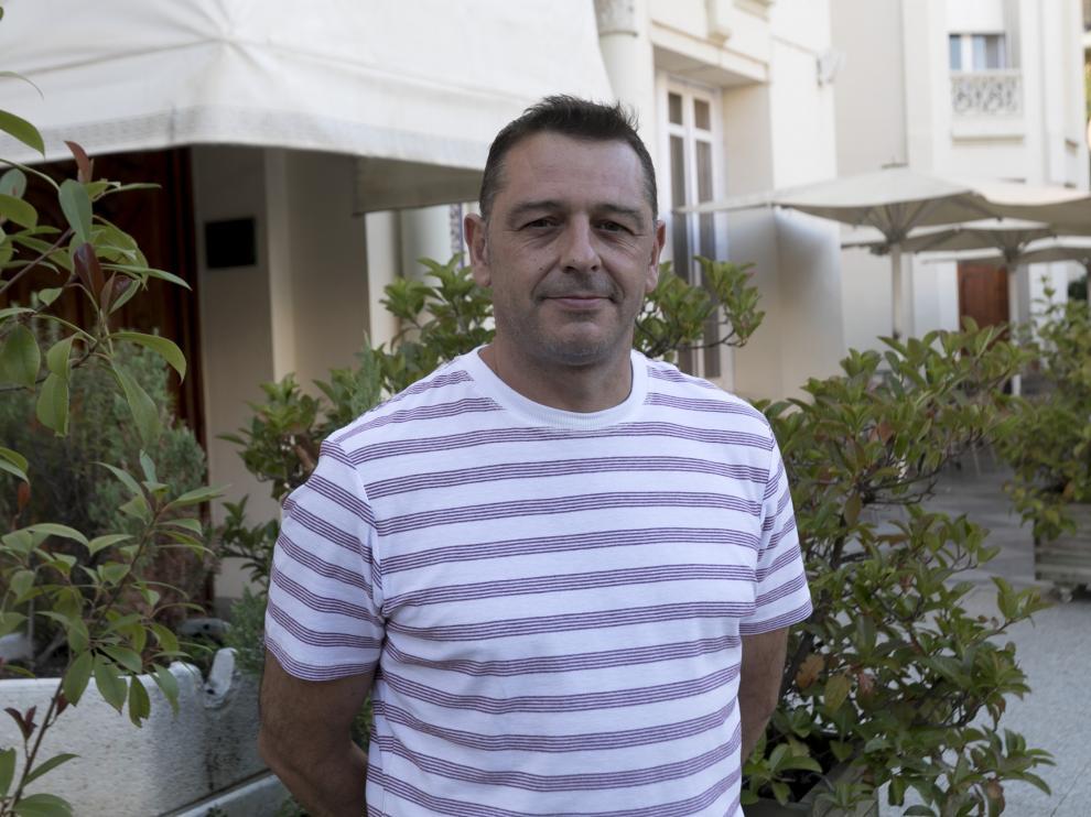 Javier Ibáiz, de la peña Alegría Laurentina.