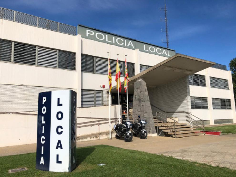 Comisaría de la Policía Local en Huesca