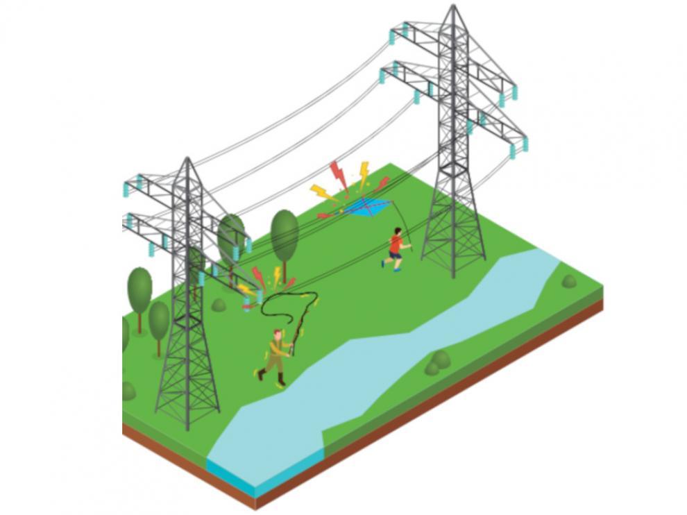 Endesa ha puesto en marcha una campaña para prevenir accidentes con líneas eléctricas.