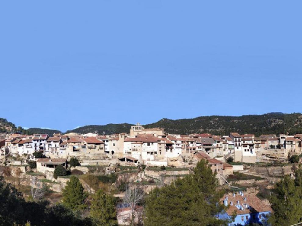 Localidad de Ráfales, en Teruel