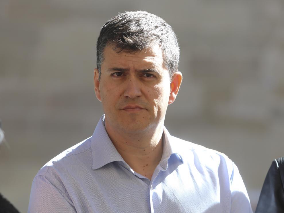 Joaquín Palacín, presidente de CHA