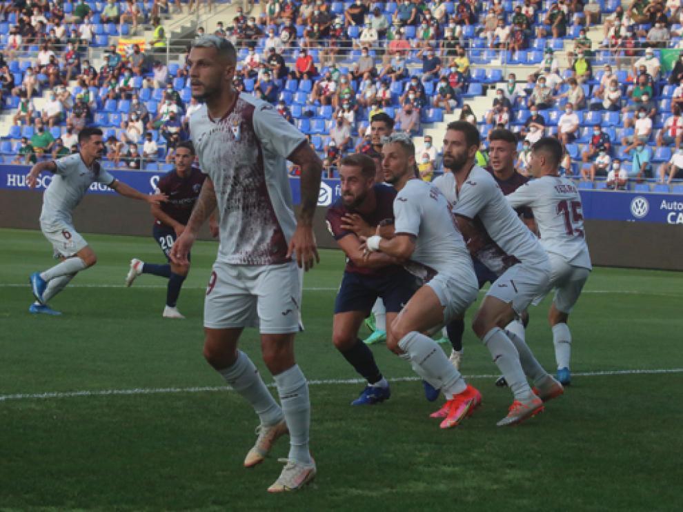 Jorge Pulido realizó un partido muy completo.