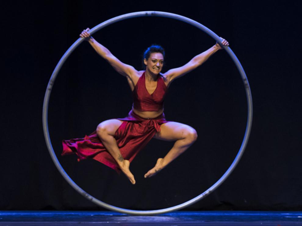 María Cavagnero presentará en la plaza de la localidad la pieza de danza 'Dona'.