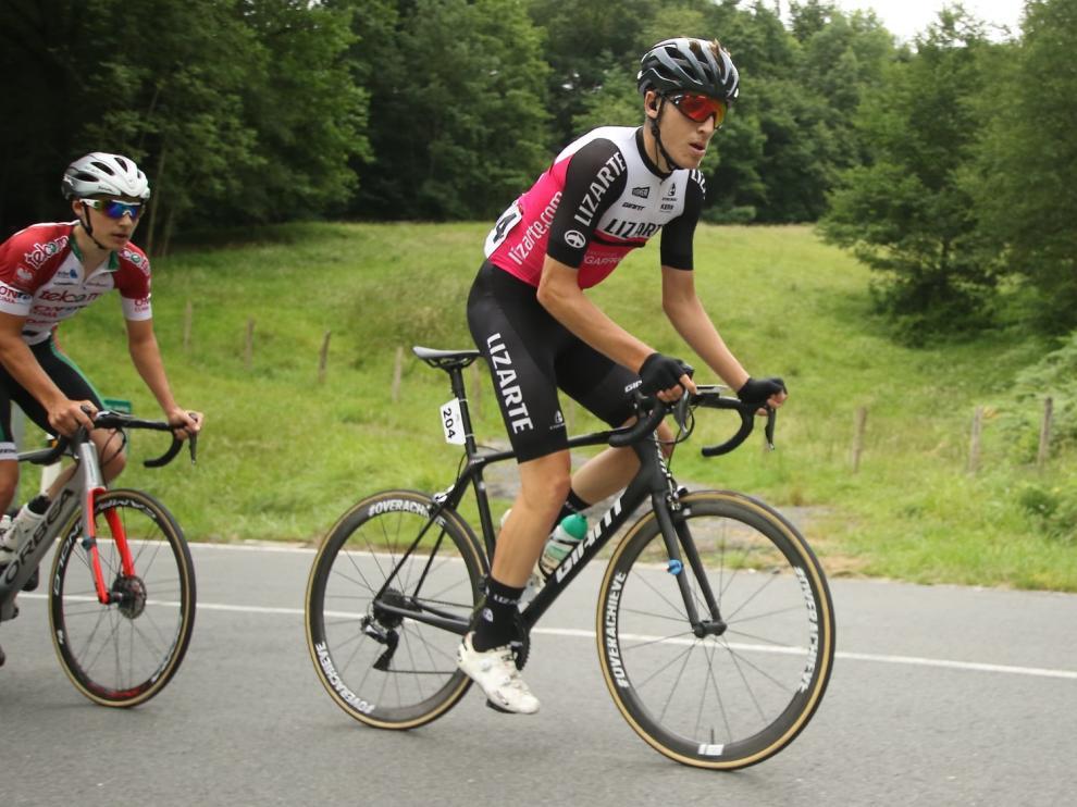 Pablo Castrillo disputará las tres carreras de la challenge del País Vasco.