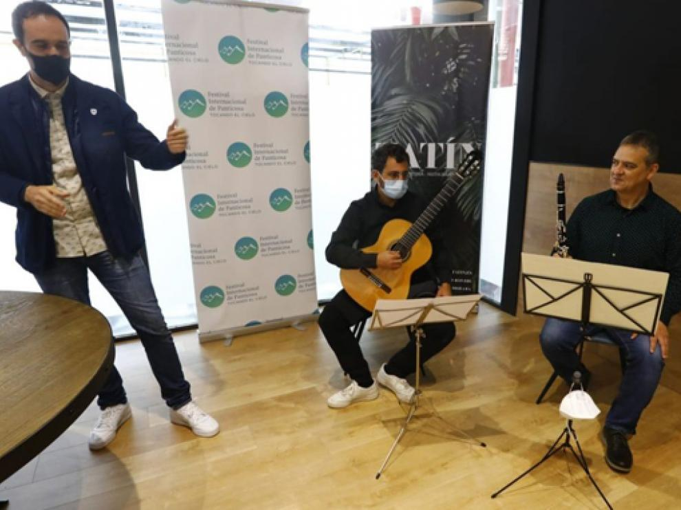 Pedro Mateo y Francisco Antonio García actúan este sábado en Lascuarre.