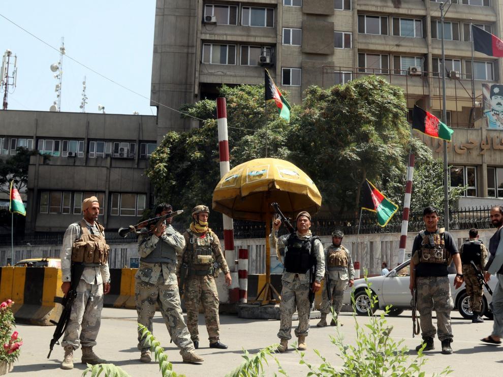 Tras más de veinte años de ocupación la tropas extranjeras dejaron el país.