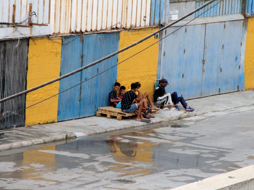 Los menores cruzaron la frontera hace casi tres meses ante la pasividad de las autoridades marroquíes.