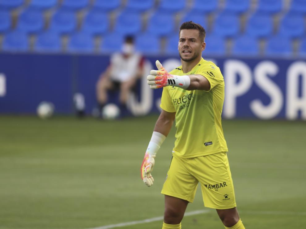 Álvaro ha militado en el Huesca las dos últimas temporadas.