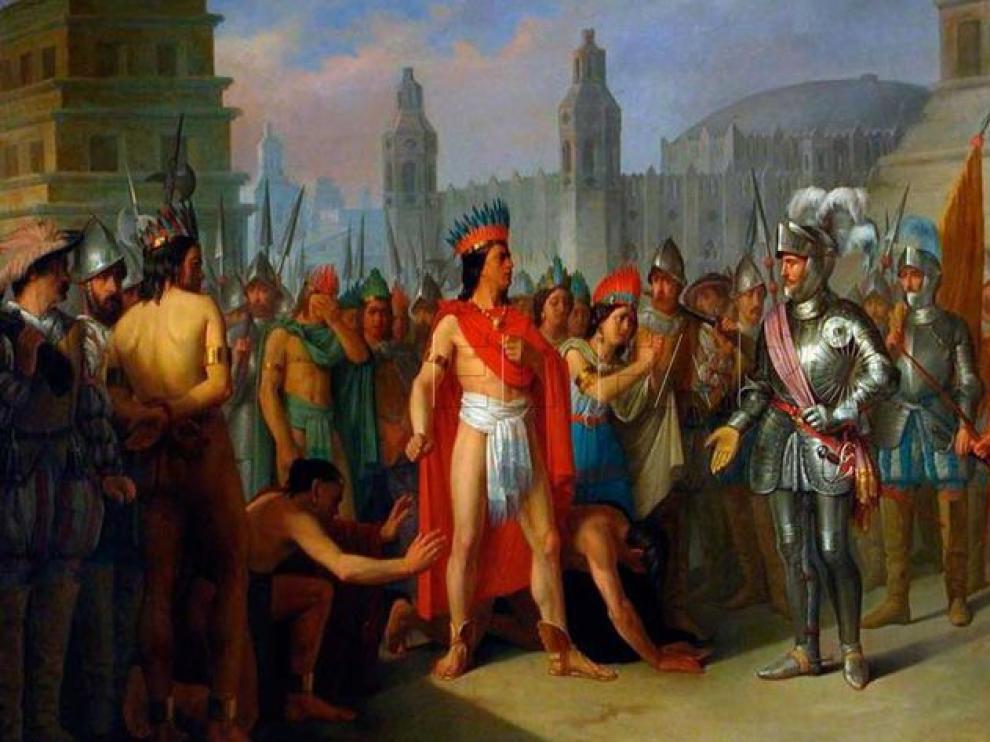 500 aniversario de la conquista de Tenochtitlan por Hernán Cortés