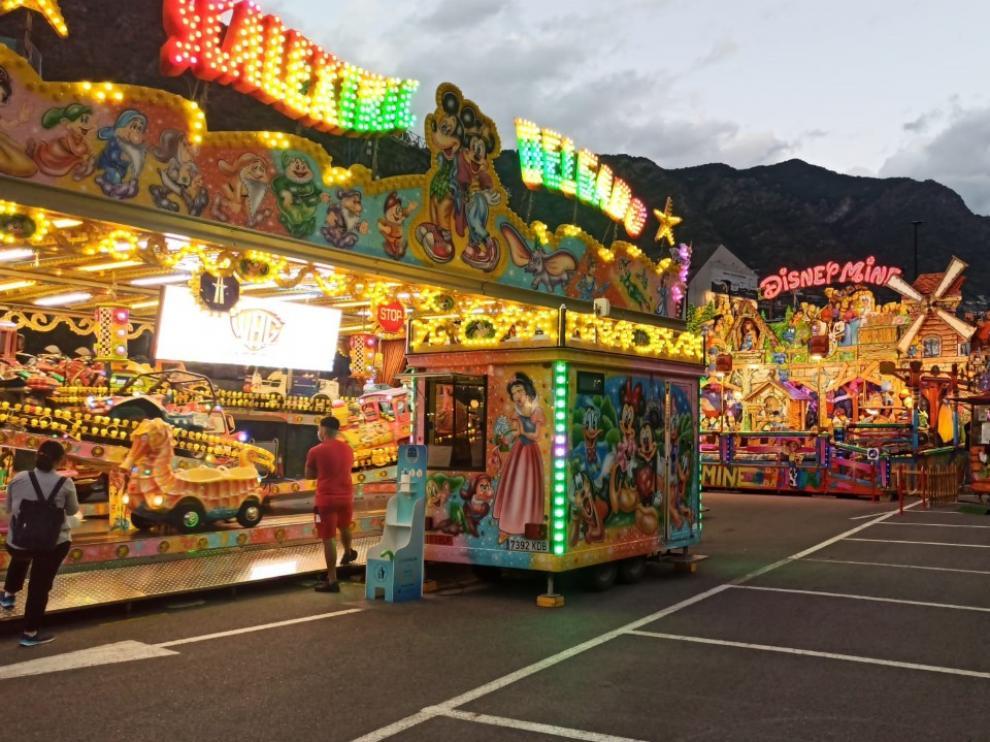 Imagen de las instalaciones de ferias en Andorra.