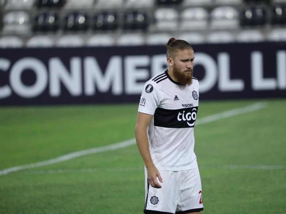 Isidro Pitta es nuevo jugador del Huesca.
