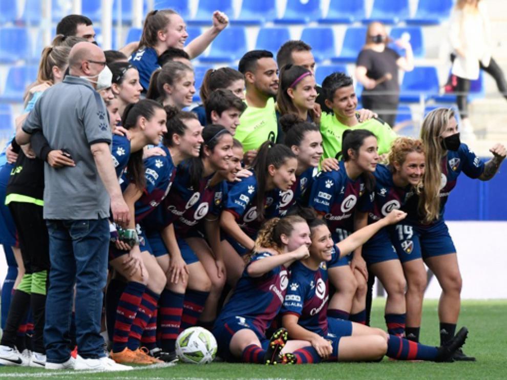 El Huesca mantiene buena parte del bloque que logró la permanencia el pasado curso.