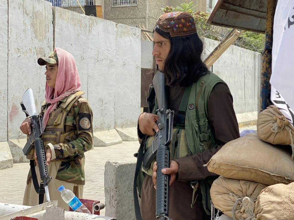 Los talibanes tomaron esta semana la ciudad de Kabul.