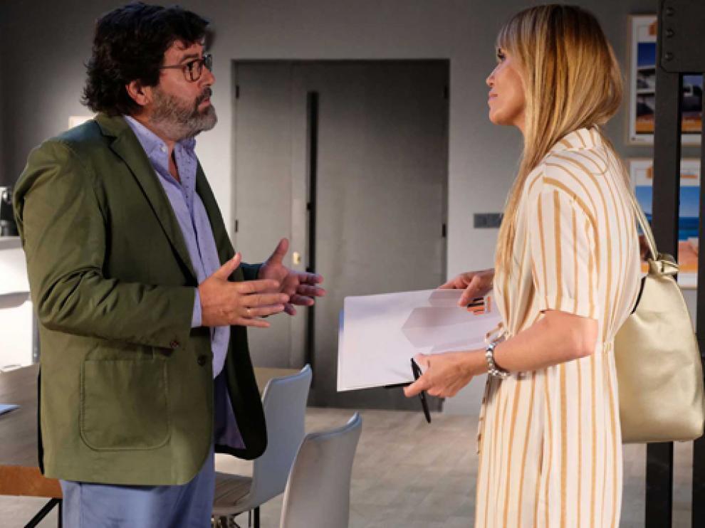 Fernando Soto y Raquel Meroño.