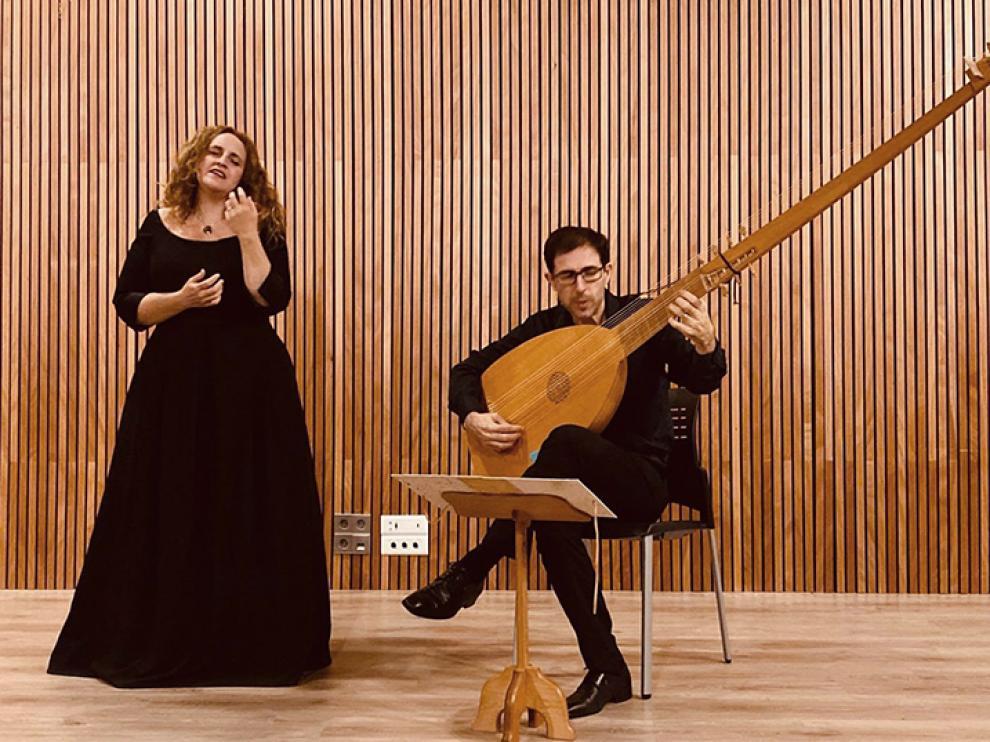 Raquel Andueza y Jesús Fernández Baena interpretarán un repertorio barroco.