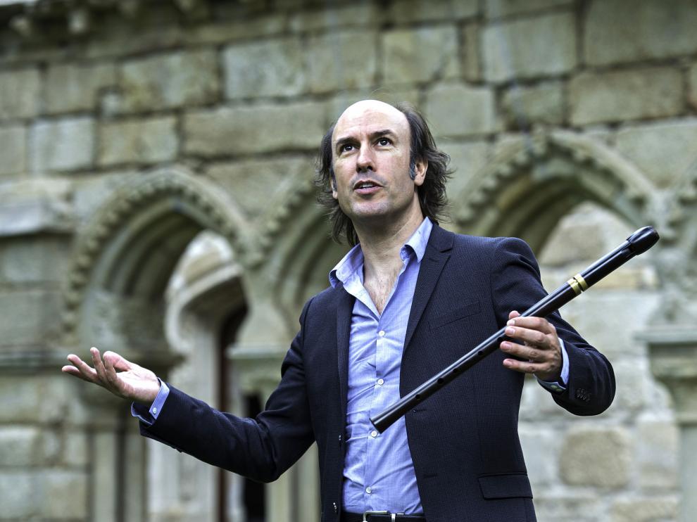 Carlos Núñez regresa a Jaca para actuar en el Festival en el Camino de Santiago.