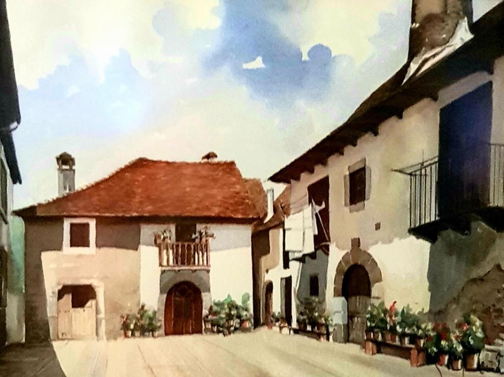 Obra de Fermín Ochoa que se expone desde este viernes en la Ciudadela