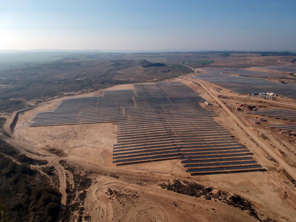 Parque fotovoltaico de Poleñino.