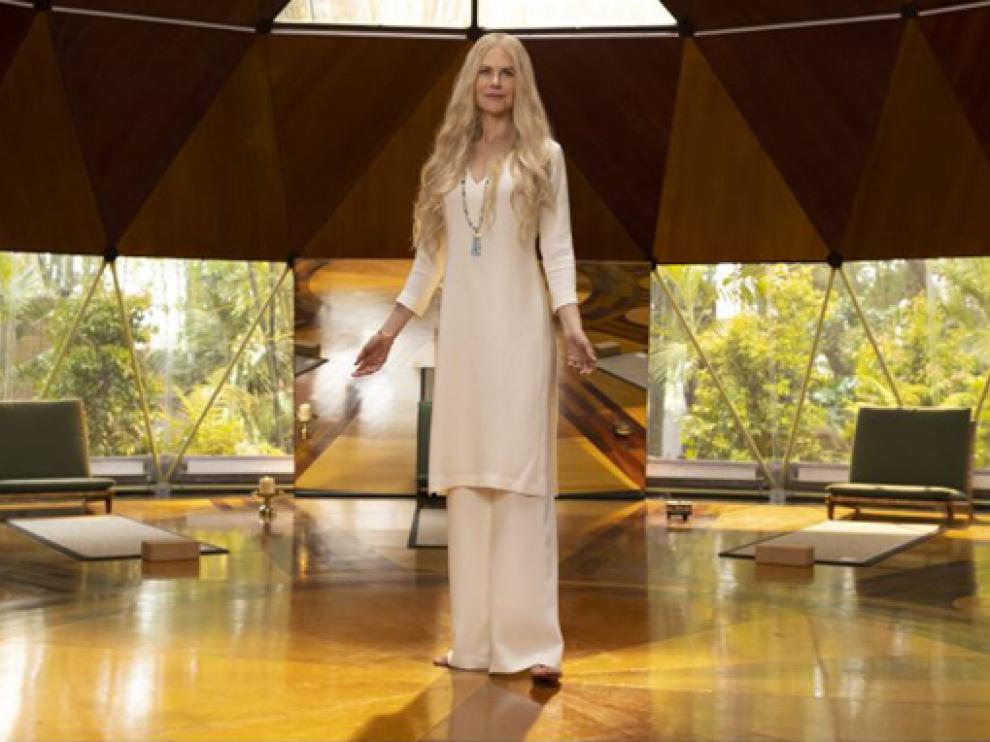 Nicole Kidman protagoniza Nice Perfect Strangers.