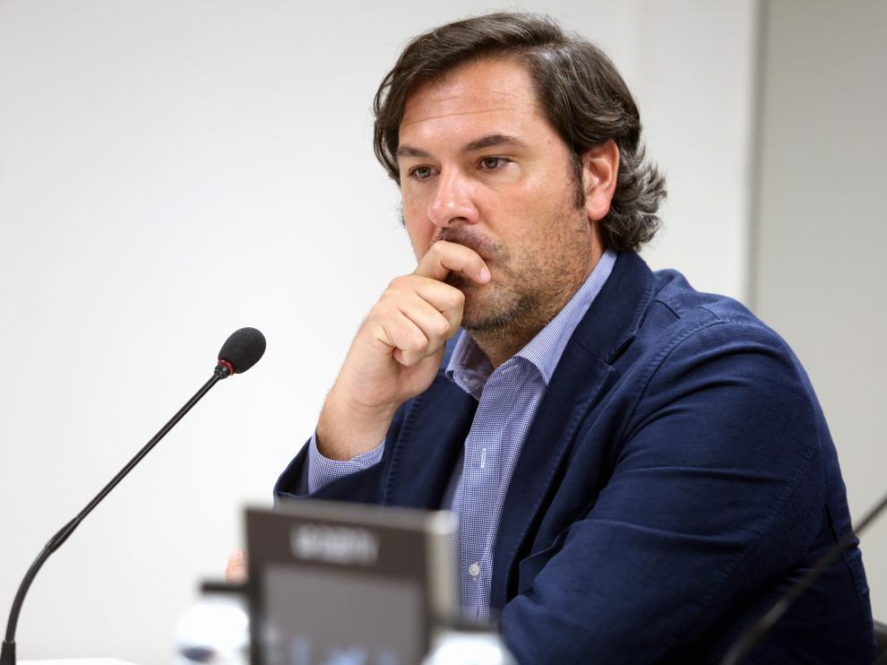 Rubén García, director deportivo del Huesca.