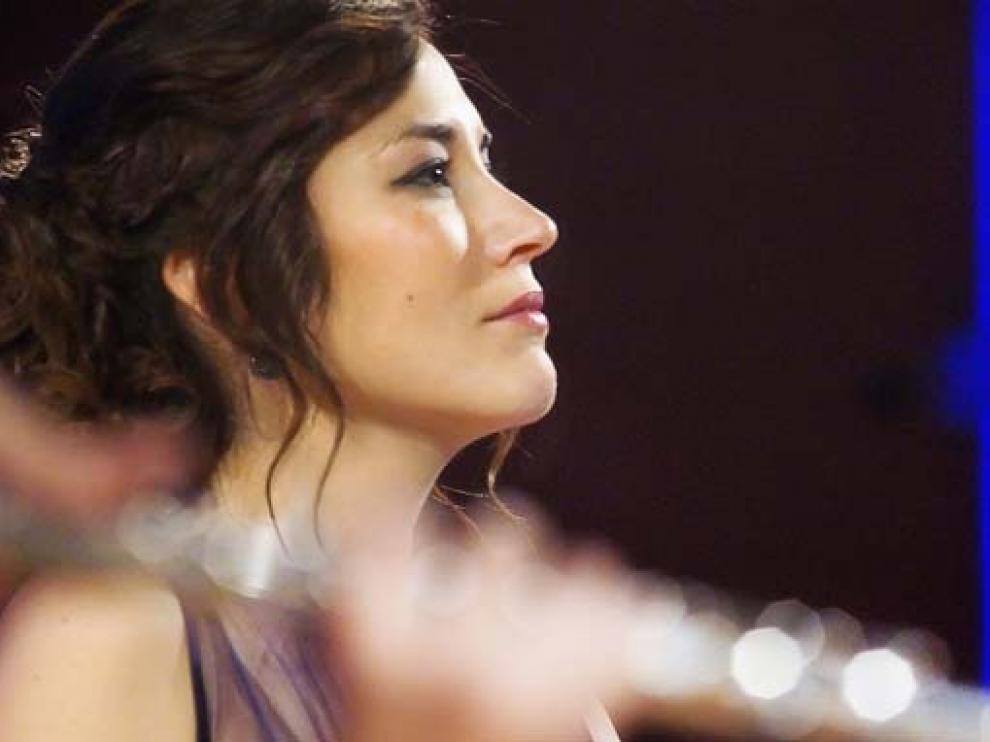 Eugenia Boix, soprano montisonense, canta este sábado en Jaca.