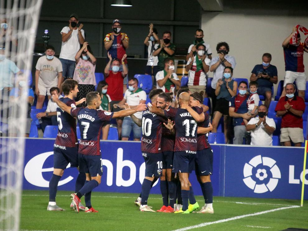 El Huesca busca su segunda victoria consecutiva en El Alcoraz.