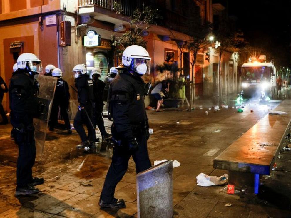 Segunda noche sin toque de queda en Barcelona