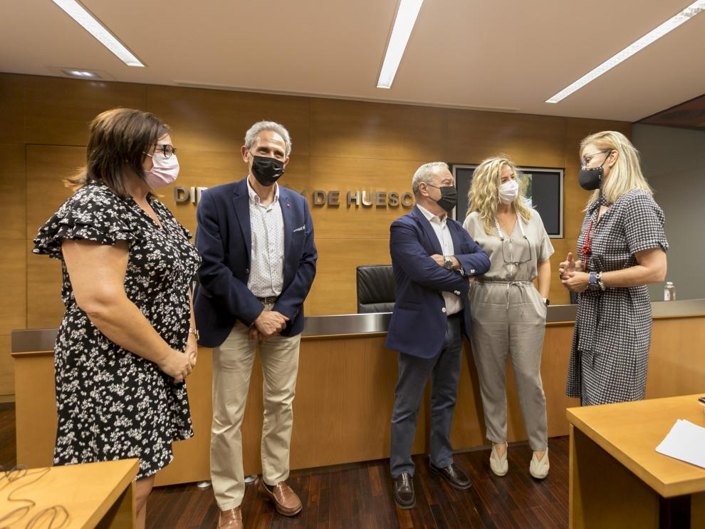 Presentación de la campaña turística 'Es el momento Huesca'.