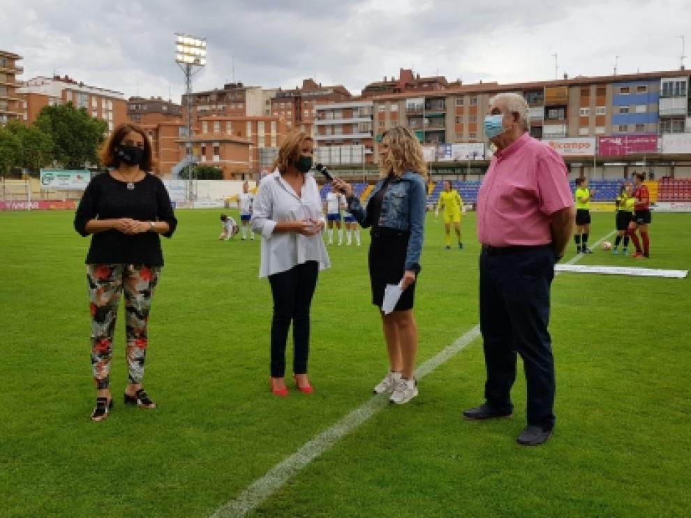 Mayte Pérez durante el II Torneo Andrea Esteban