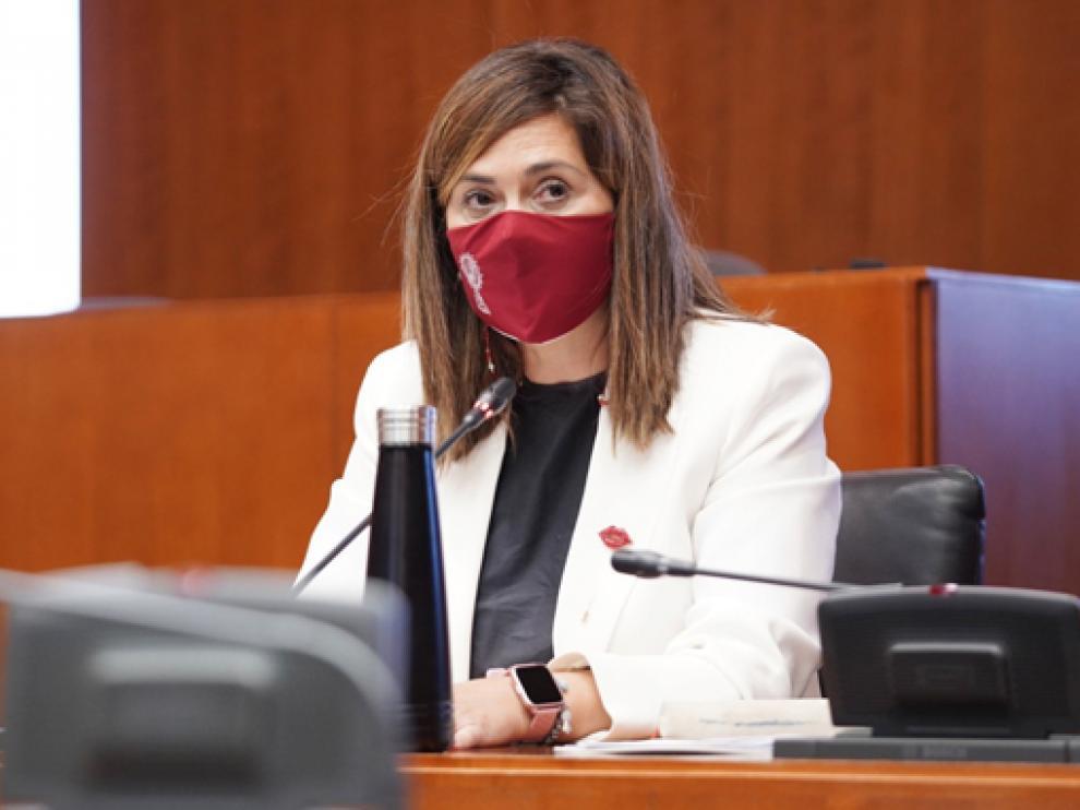 La portavoz sanitaria de Ciudadanos, Susana Gaspar