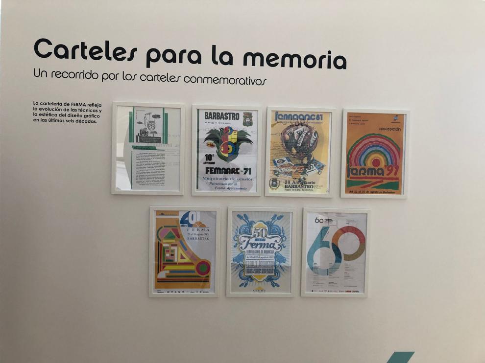 Algunos de los carteles que se podrán disfrutar en una de las exposiciones de FERMA 2021