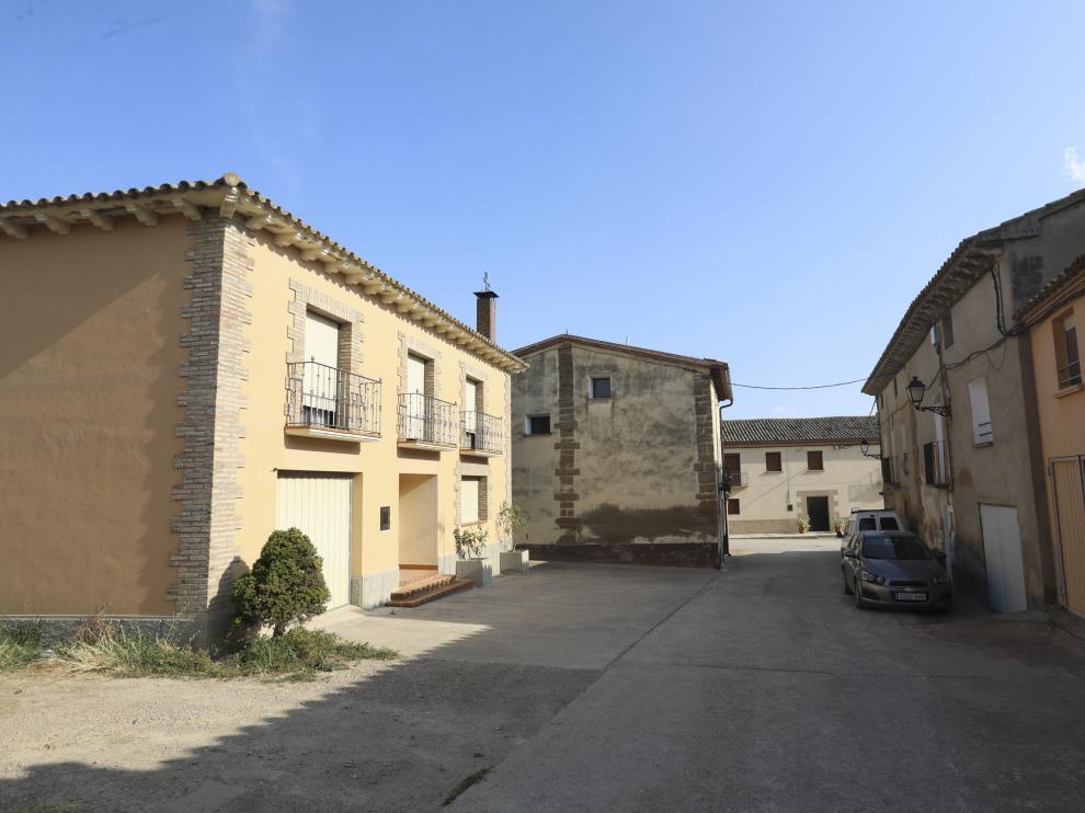 Avenida central de Banariés, municipio incorporado de Huesca.