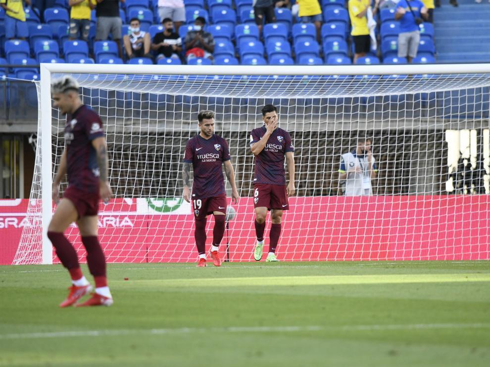 El Huesca se ha ido de Las Palmas de Gran Canaria con una derrota.