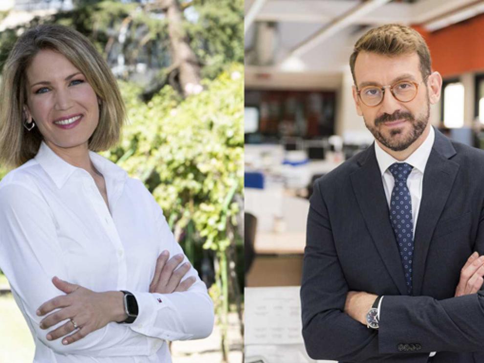 Silvia Intxaurrondo y Marc Sala