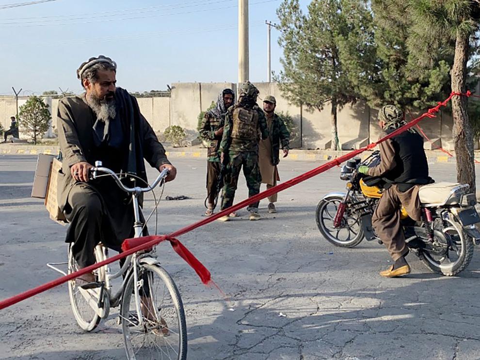 Los talibán tomaron la ciudad de Kabul hace unos días.