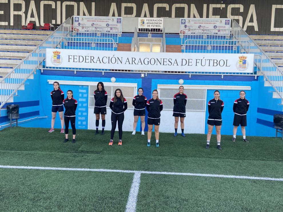 El arbitraje femenino va creciendo poco a poco en Aragón.