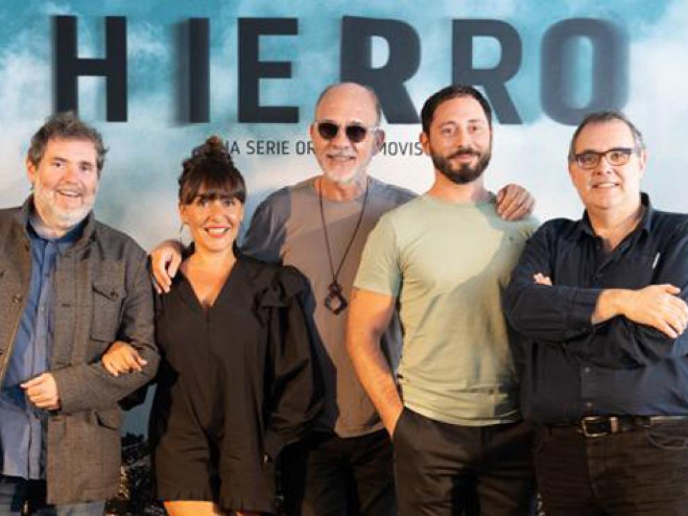 La serie 'Hierro' de los hermanos Coira, entre los premiados del Festival de Televisión de Vitoria.